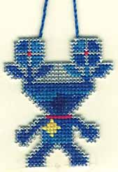 Free Alien Cross Stitch Pattern to Print